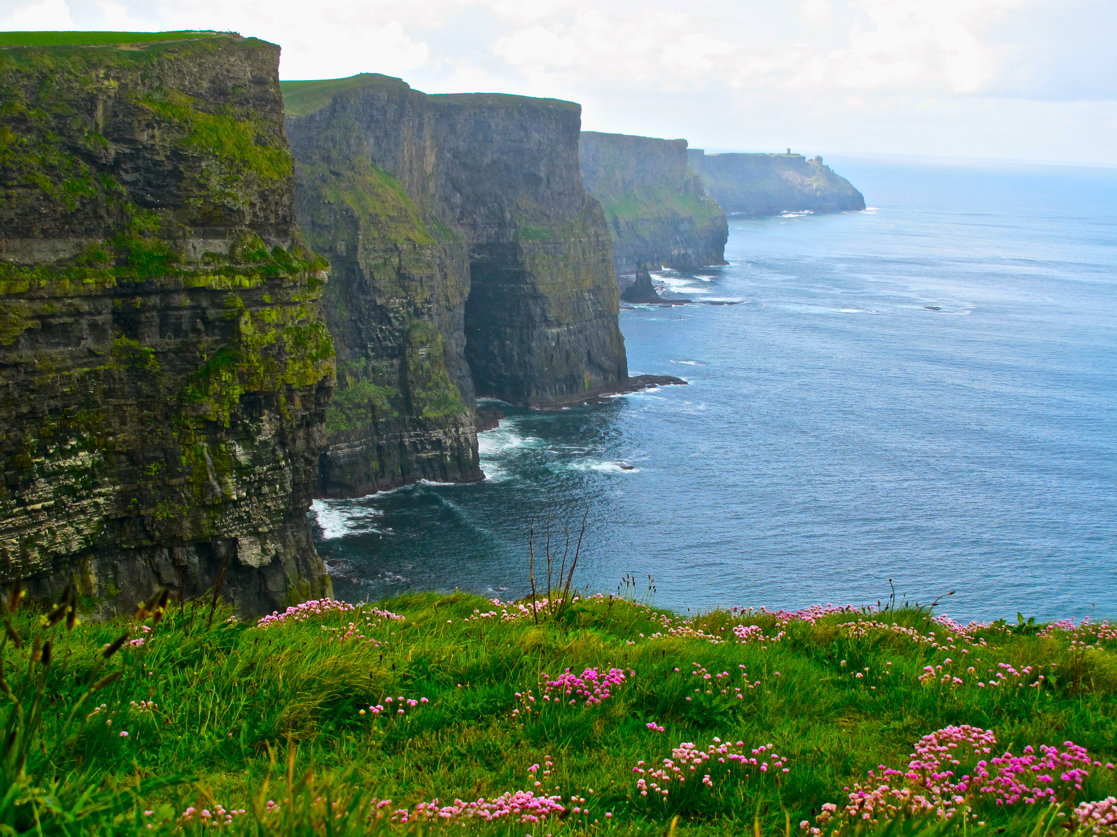 1 timothy 3 16 deuteronomy 33 27 hag s head cliffs of moher galway bay mal summer setting - Cliffs of moher pictures ...