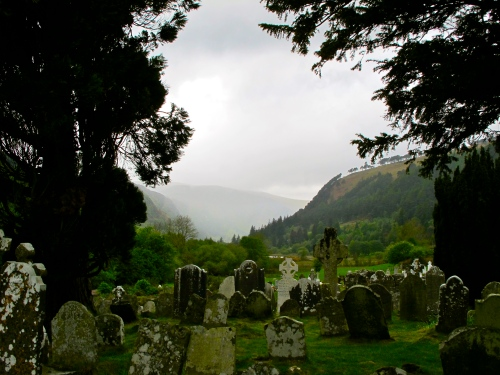 John Taylor While We Are Mourning The Loss Of Our: Ireland's Glendalough: Reflections On Death