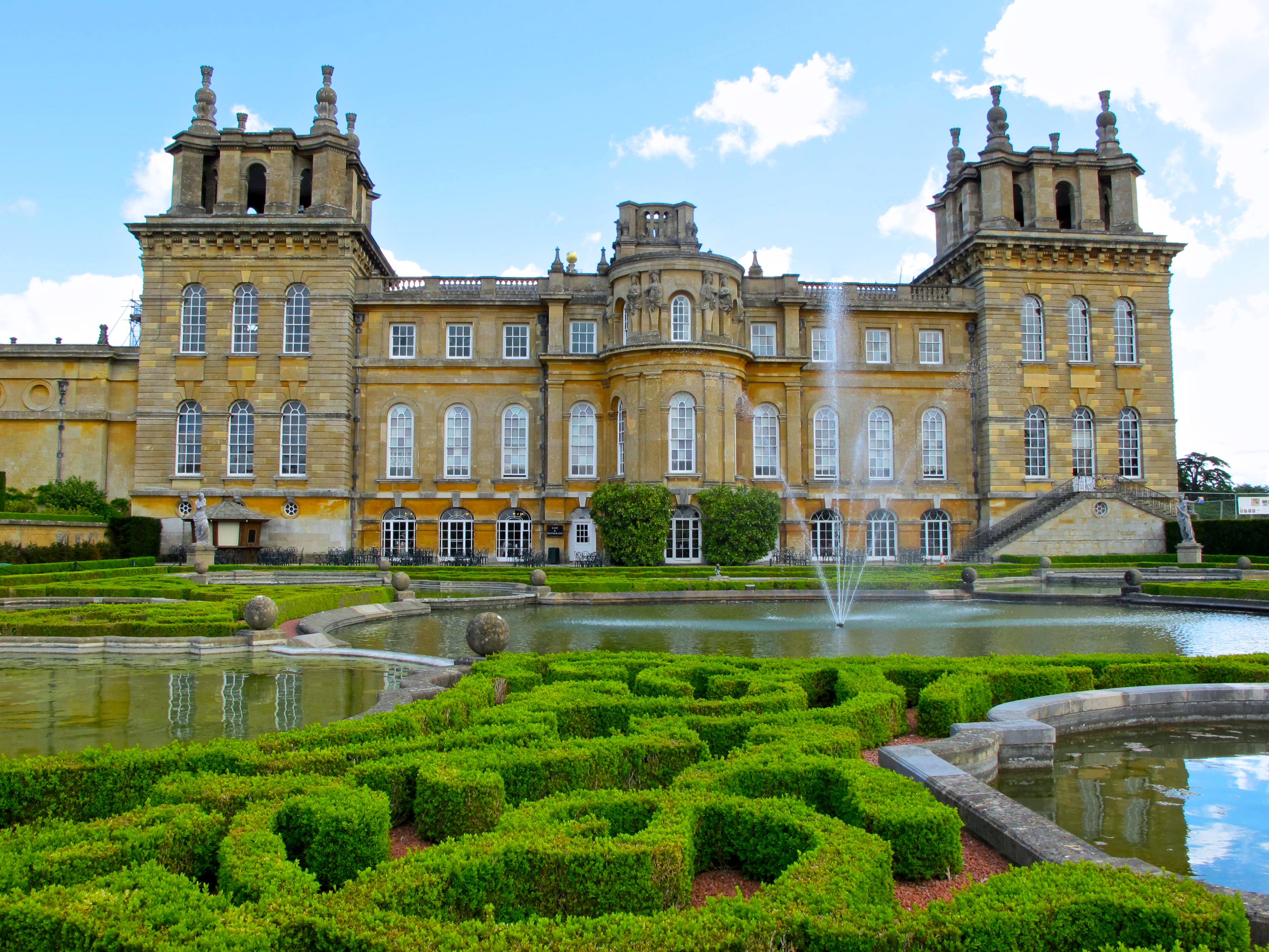 Blenheim palace most famous winston churchill quotes for English baroque architecture