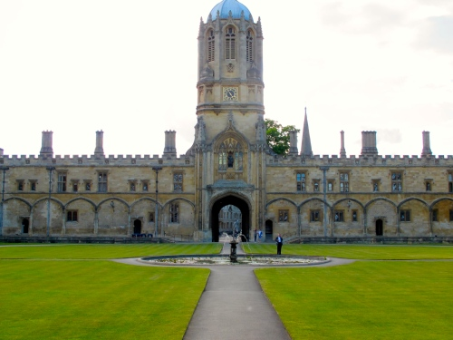 21 Tom Quad. Christ Church