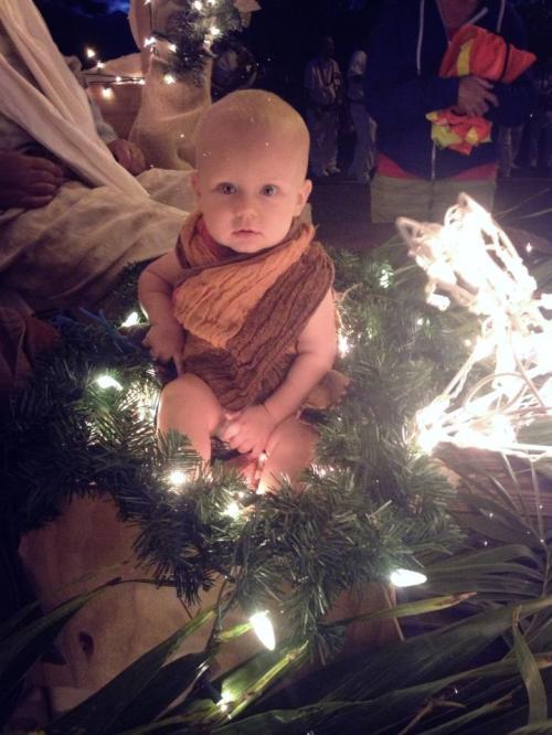 Baby Judah and Baby Jesus