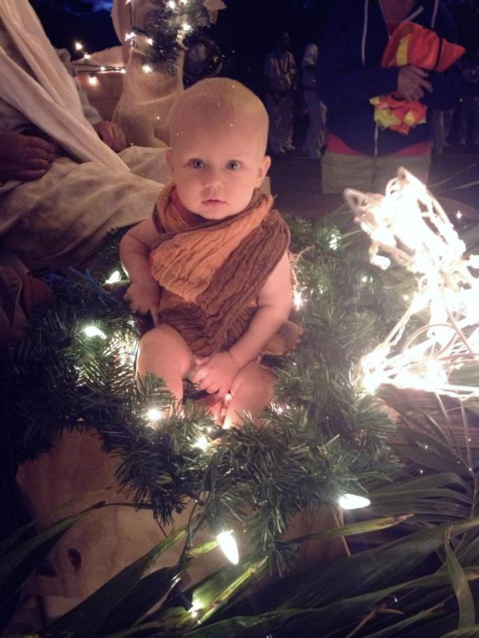 Baby Judah and Baby Jesus