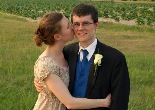 Dan and Brianna at wedding
