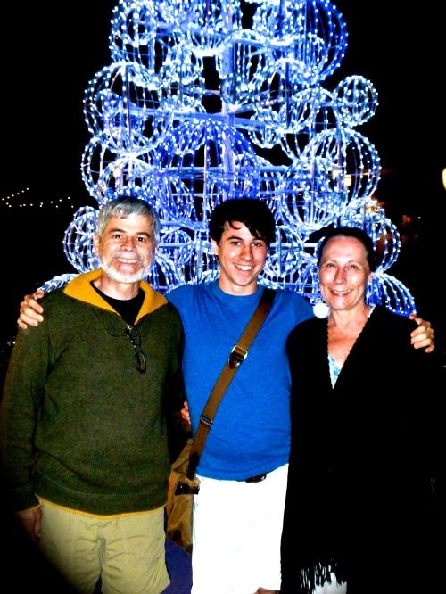 Tree with Alan, Joel, and Kathi