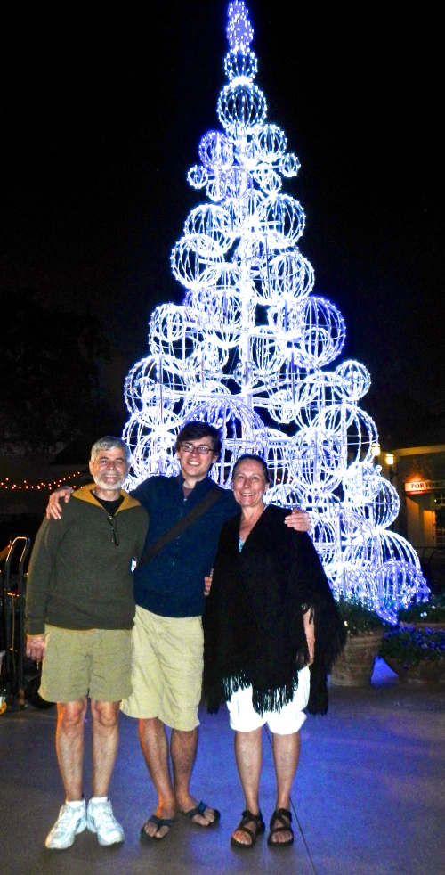 Tree with Alan, Stephen, and Kathi