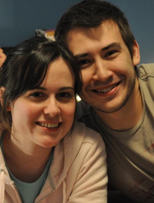 Kathy and Carl