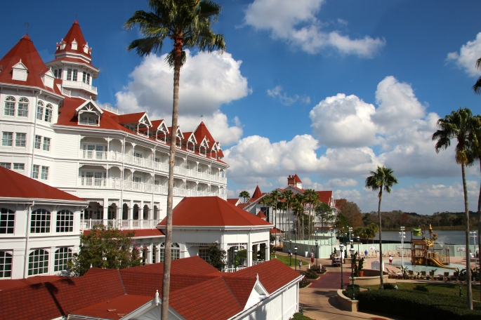Monorail Ride Grand Floridian