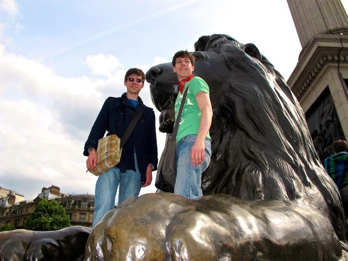 Kids on Lion's Paw