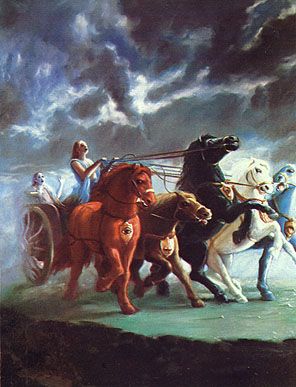 chariot. Columbia