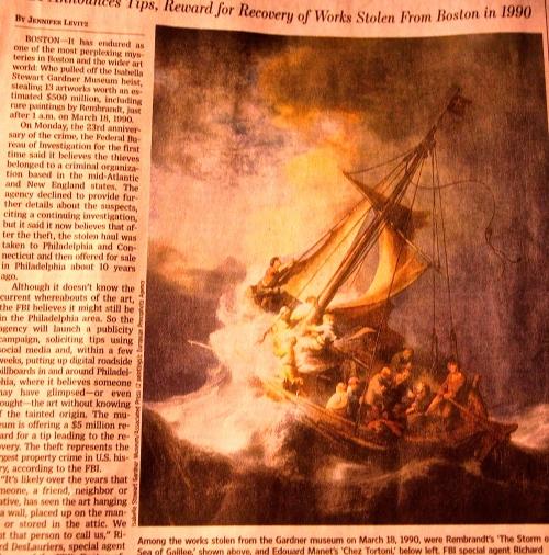 Rembrandt's Storm
