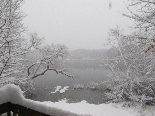 Snow on Lake copy