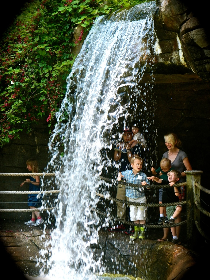 Waterfall with Kids