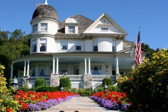 Garden, Mackinac Island Home copy