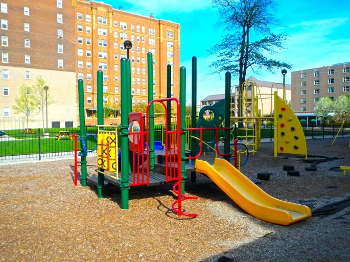 Playground at DeRoy