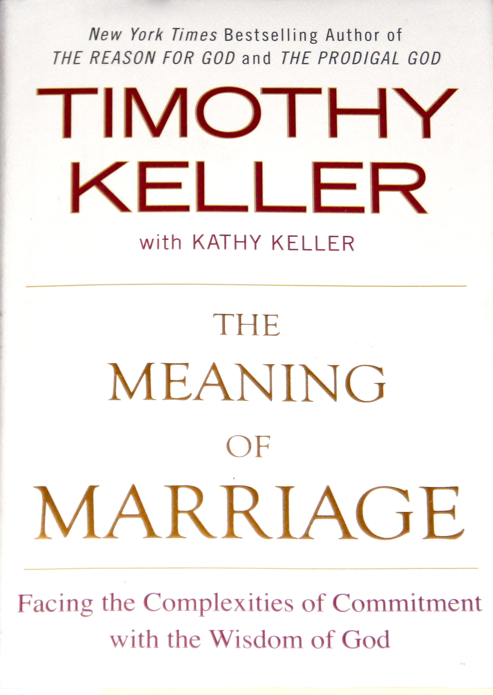 the meaning of marriage by tim keller summer setting