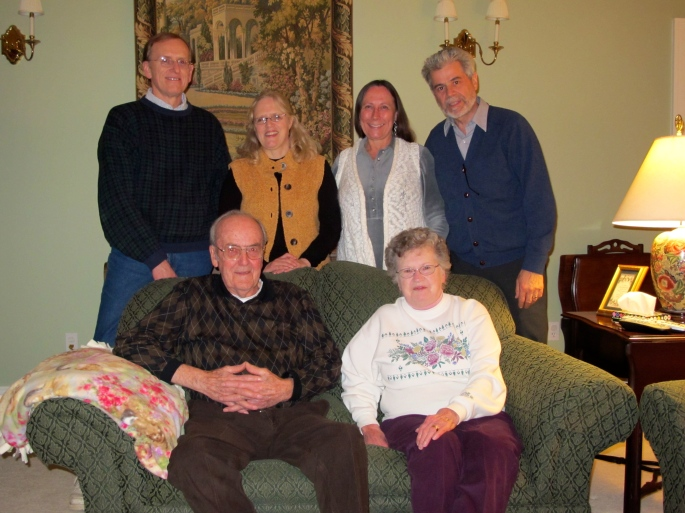 Uncle Milton's 86th birthday party