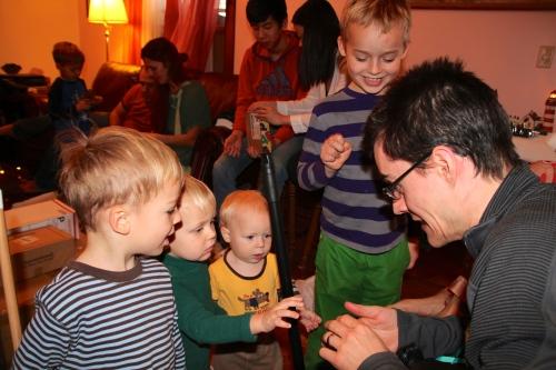 Dan with Nephews