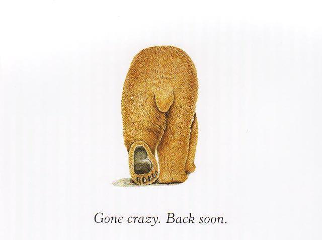 Gone Crazy.Back Soon. Tessa Parker