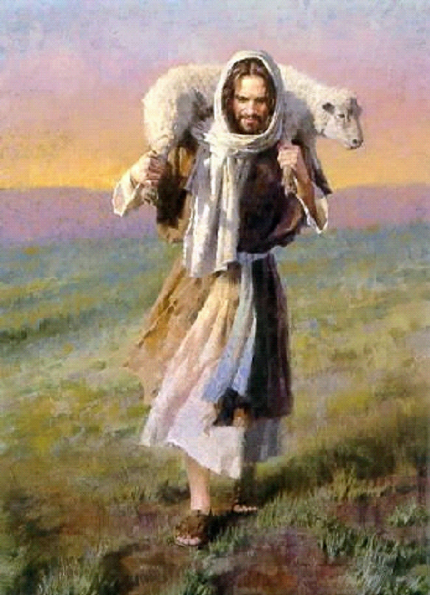 Jesus Carrying Lamb