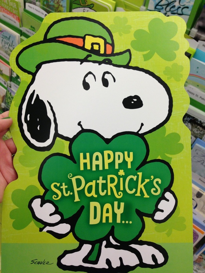 St. Patrick's Day cartoons; It's easy being green; it's ...