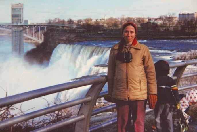 Kathi + Kids at Niagara Falls
