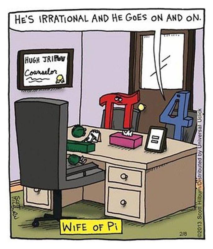 Joke about Pi