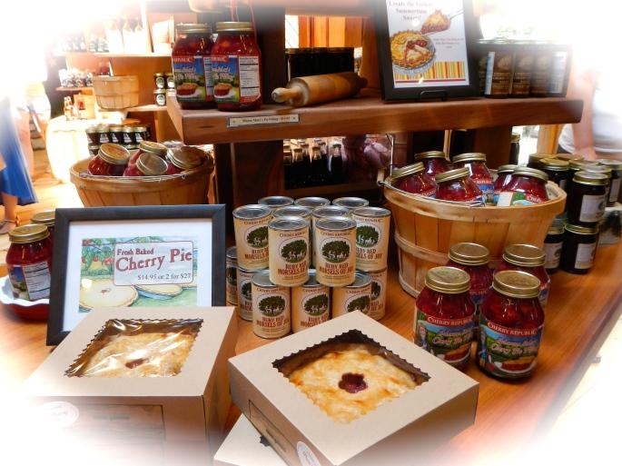 Cherry Republic produce
