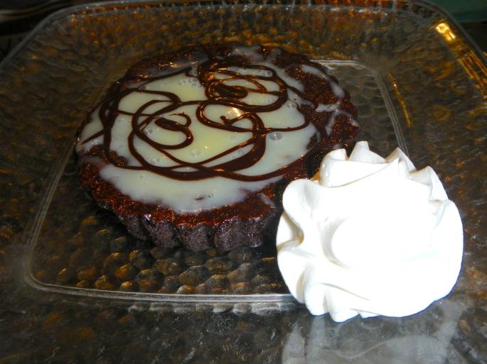 Chocolate Torte with Vanilla Sauce copy