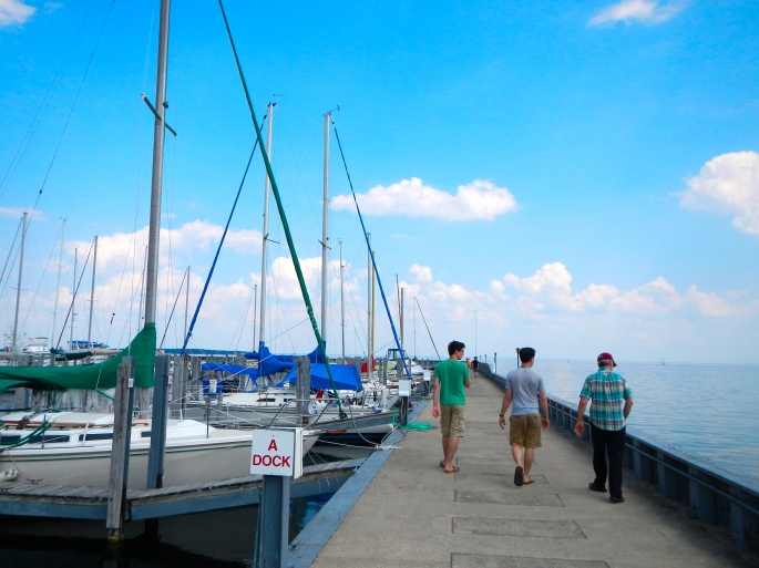 Dock A in Northport, MI