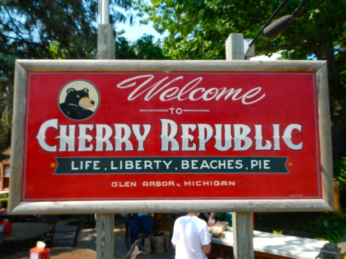 Glen Arbor's Cherry Republic