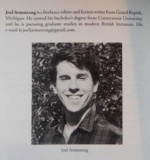 Joel's Bio as an Author