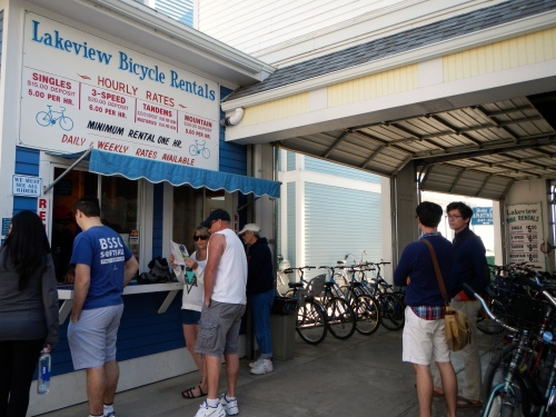 Lakeview Bicycle Rentals