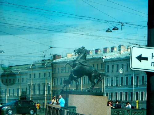 The Bronze Horseman (monument to Peter the Great)