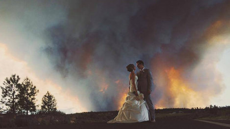 Wildfire Wedding. Chris Patterson