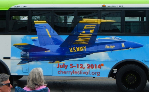 Blue Angels Bus
