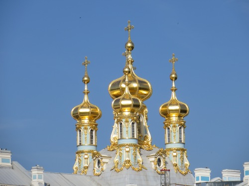 Catherine Palace Spires