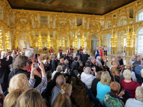 Entertainment at Catherine Palace