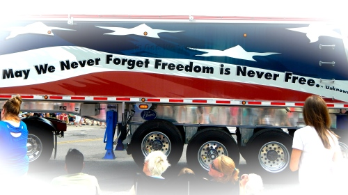 Freedom is Never Free