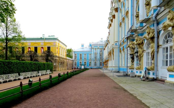 Front of Catherine Palace