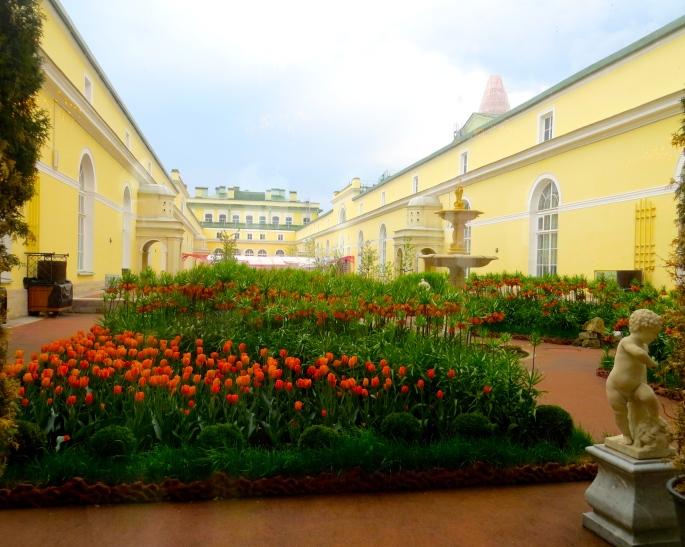 Hermitage Courtyard