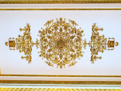 Hermitage Golden wall design