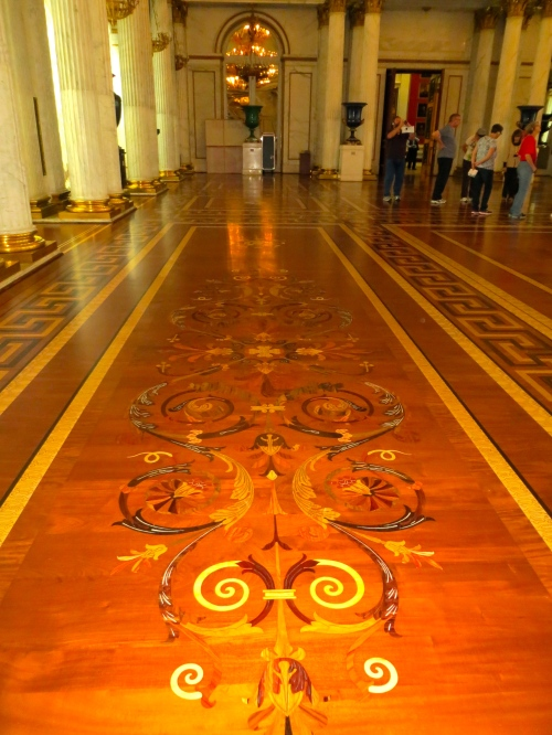 Hermitage Marble Pillars and Parquet Floors