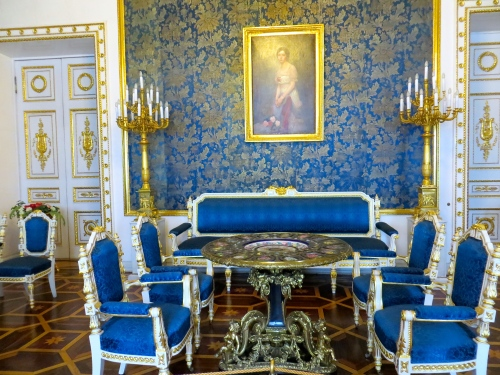 Hermitage Sitting Room Blue