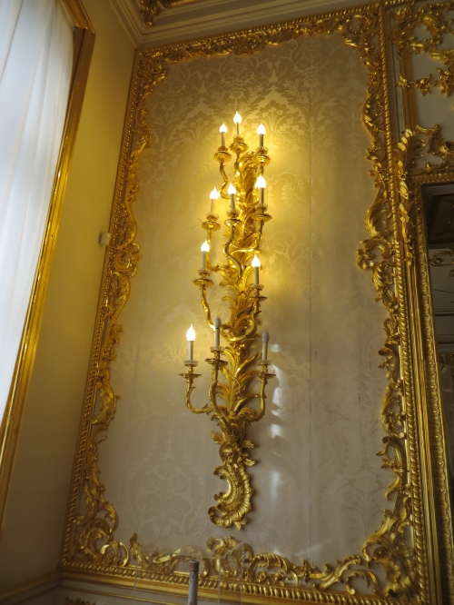 Lights at Catherine Palace