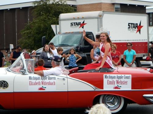 Michigan Apple Queen