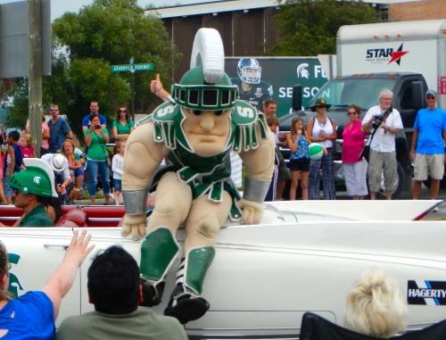 MSU Mascot Sparty