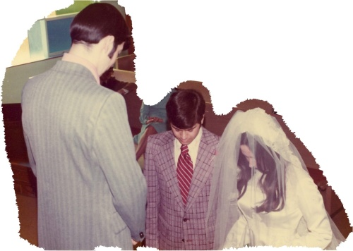 Our Wedding. Veil