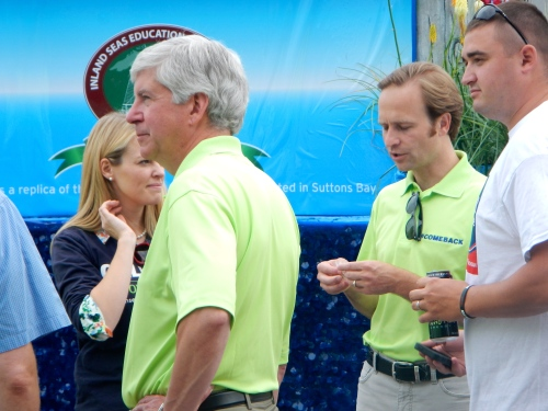 Rick Synder and Brian Calley