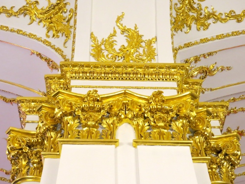 Rococo Decorations at Catherine Palace
