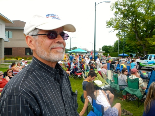 Spectators at Parade